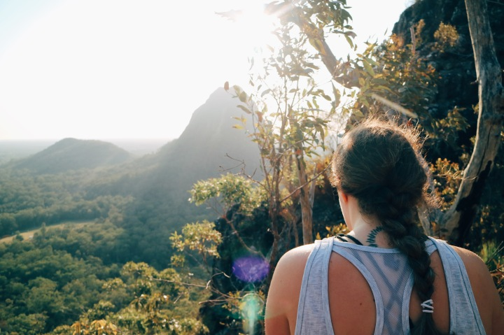 Mt Tiberoowuccum, Glasshouse Mountains