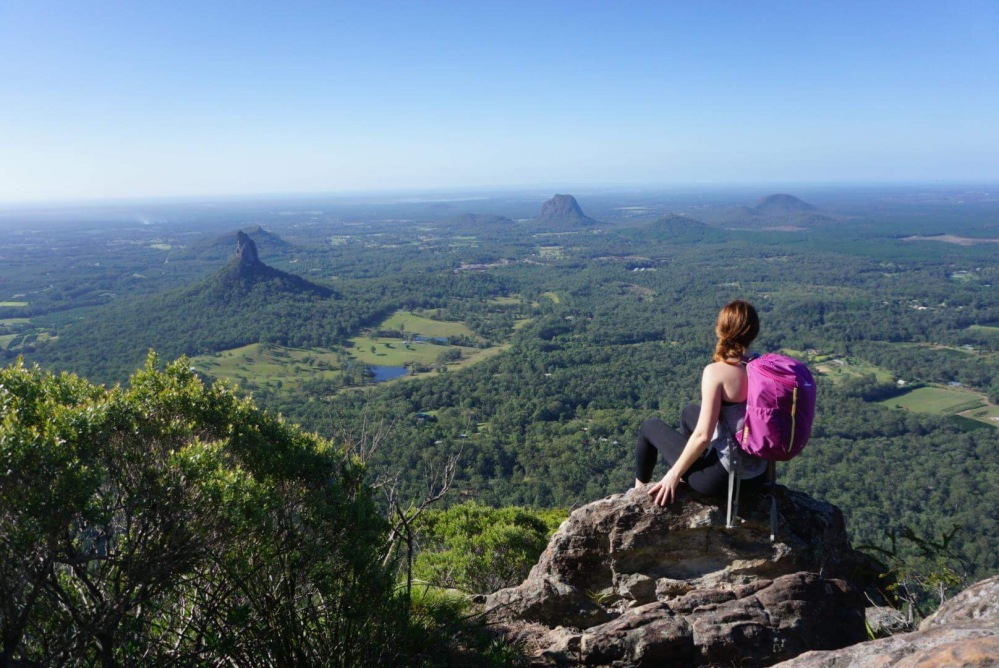 Mt Beerwah, Glass House Mountains.